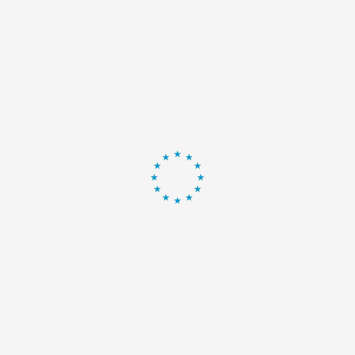 Topmast Puppyren Nylon Blauw - 8 hoekig